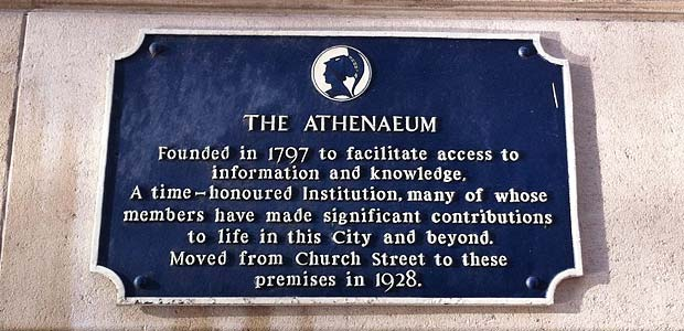Athenaeum Founded in 1797